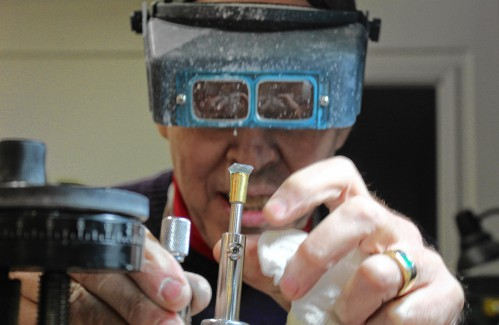 Francestown man makes jewelry from New Hampshire materials