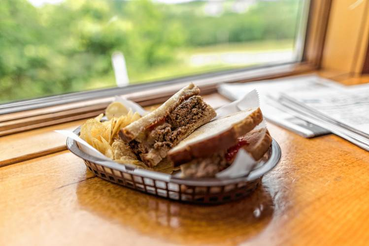 Jarrod's Deli and Classic Meals offers a number of gluten-free options on their menu, including a meatloaf sandwich. Staff photo by Ben Conant