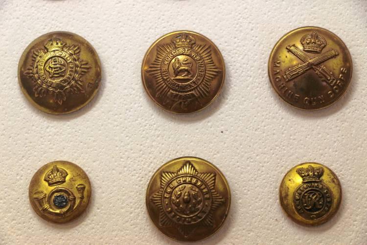 Monadnock Ledger-Transcript - Antique, vintage buttons on