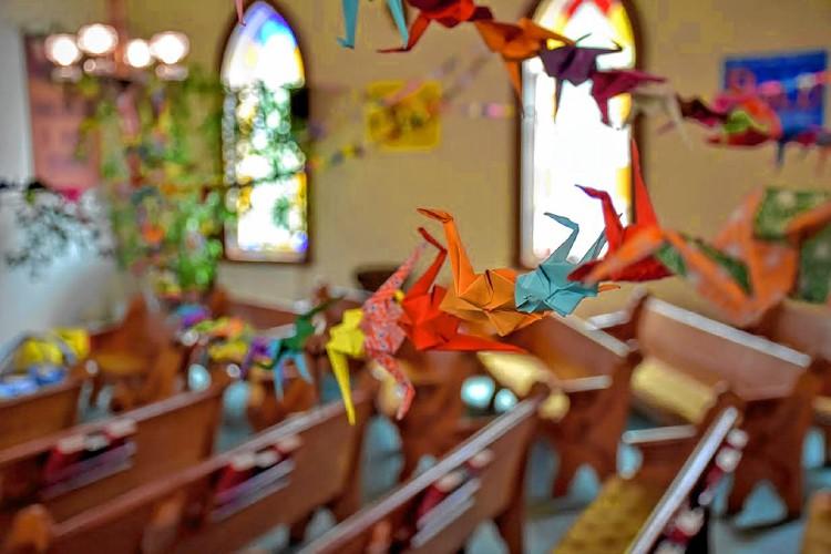 Monadnock Ledger Transcript Peace Cranes For Pentecost