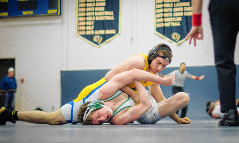 In The Fall Wrestlers Will No Longer Be Required To Wear The Classic Singlet Uniform Staff Photo By Ben Conant Buy This Image
