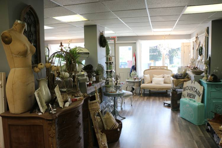 Keara Castro Of Jaffrey Recently Opened Cove Of Treasures On Main Street In  Jaffrey. The Store Sells Antique Furniture And All Natural Home And Body ...